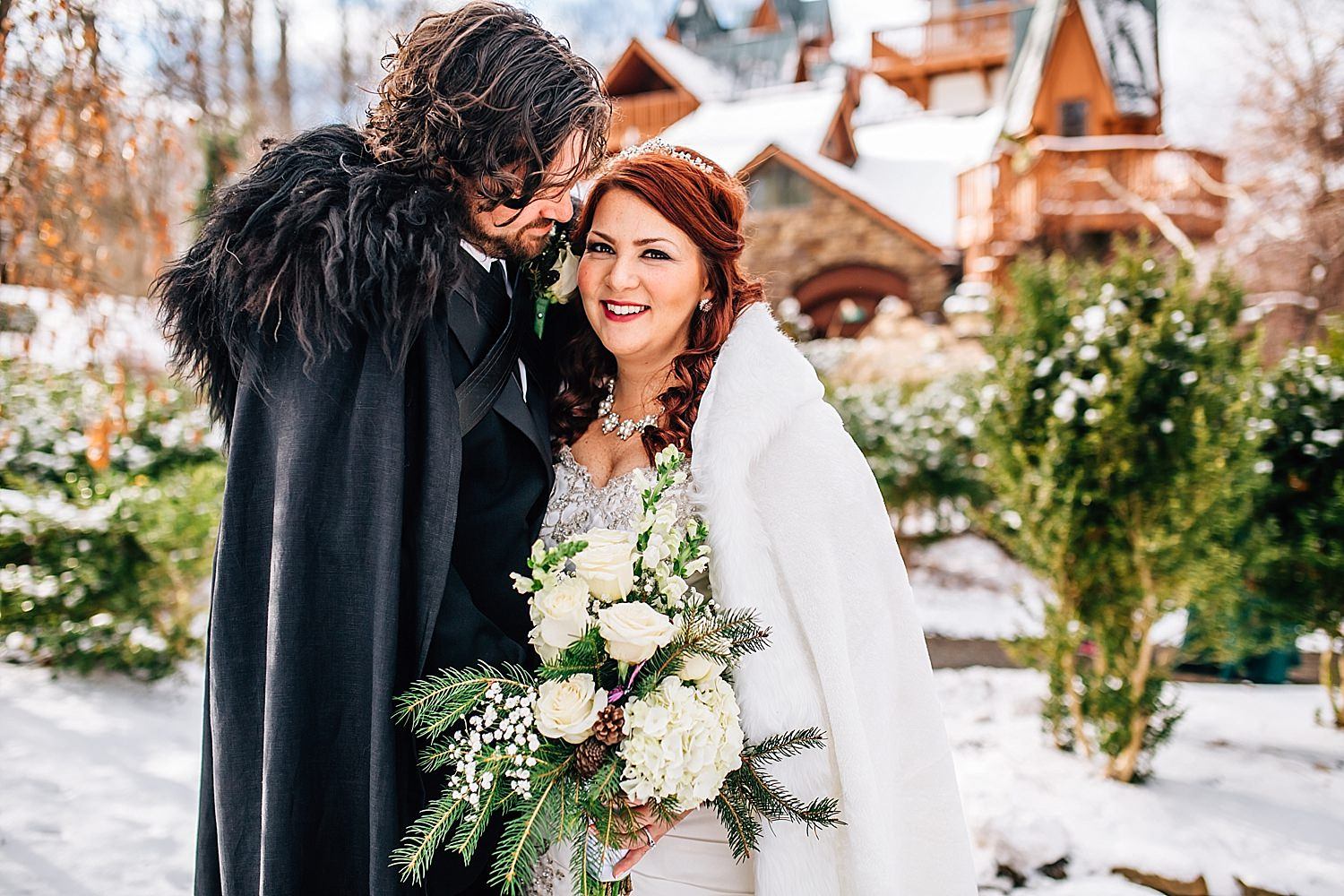 game of thrones inspired wedding at landolls mohican castle